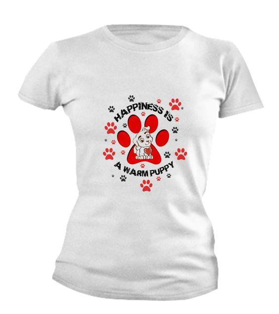 Happiness Is A Warm Puppy - Women's ihugpets-warmpuppywomen's