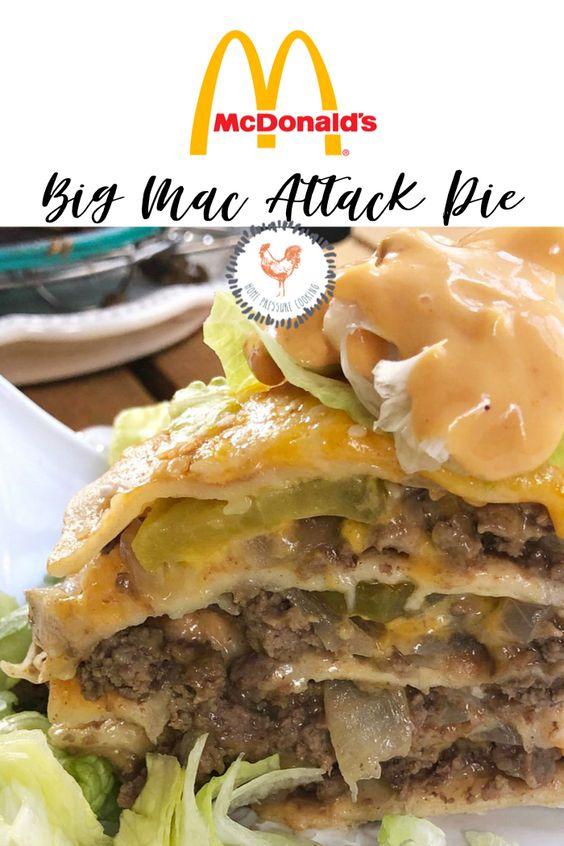 Big Mac Attack Pie