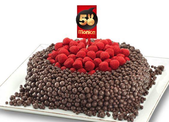 Amor aos Pedaços cria bolo para os 50 anos da personagem Mônica   My SP
