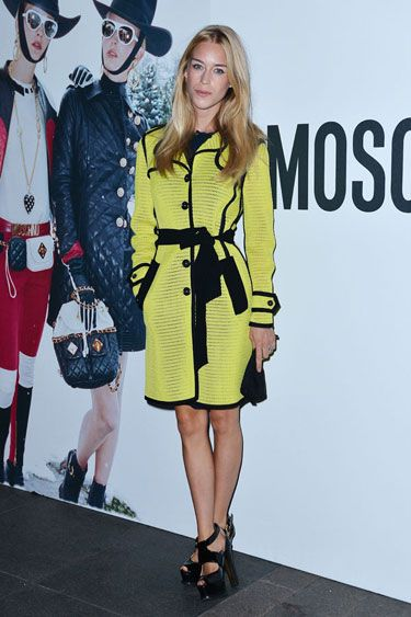 Mary Charteris - Juergen Teller Dinner Hosted By Moschino #mfw