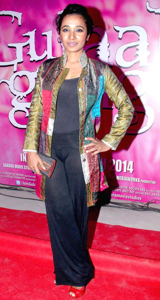 Tannishtha Chatterjee promotes her upcoming film Gulaab Gang in Film City, Mumbai. #Style #Bollywood #Fashion #Beauty