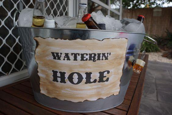 60th Birthday Party - Wild West Theme