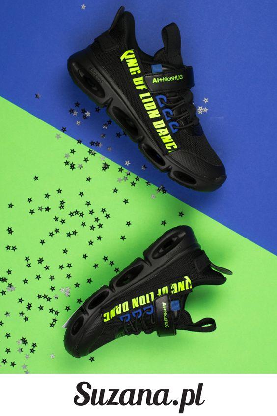 Czarne Sportowe Buty Dzieciece Suzana Pl 038 Hoka Running Shoes Sport Shoes Shoes