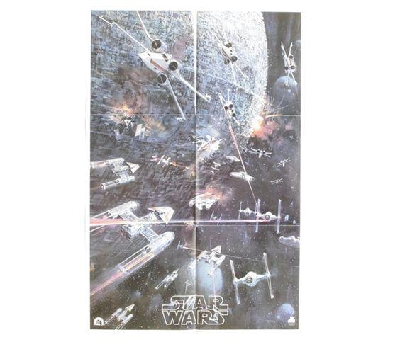 Vintage Star Wars One Sheet