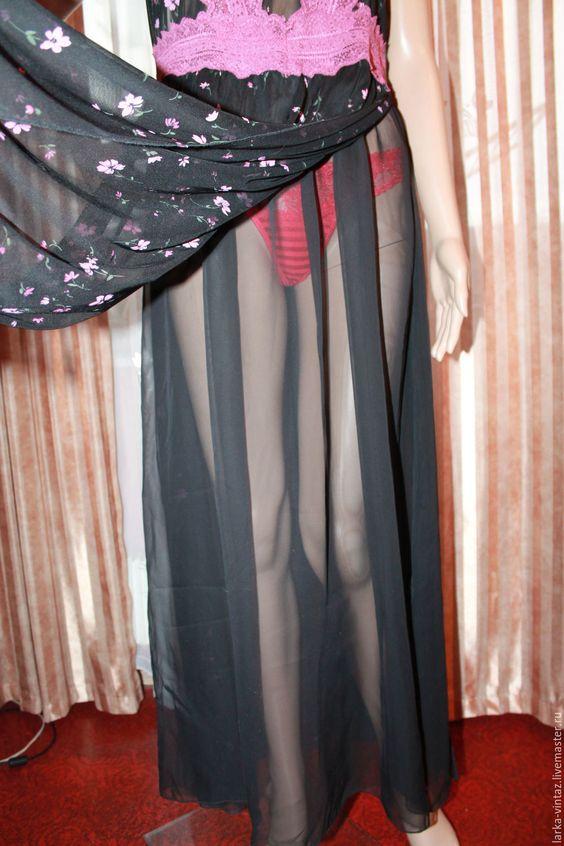 """Купить Ночная рубашка """"Элегия"""" - бордовый, комбинация, комбинация купить, ночная рубашка"""