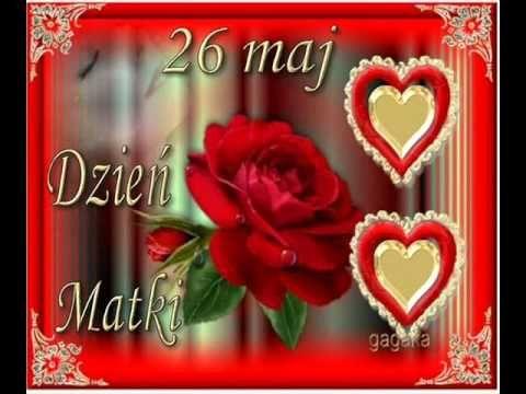 Spiewam Dla Ciebie Kochana Mamo Youtube Mama Urodziny Dzien Matki