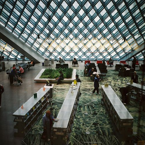 Rem Koolhaus, Seattle Library.  A destination in and of itself.