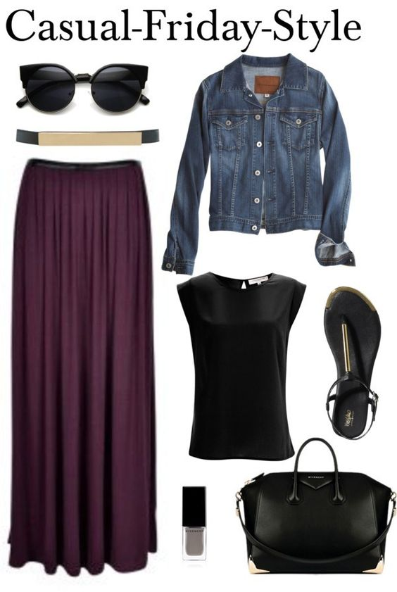 Maxi Skirt - Casual-Friday-Style