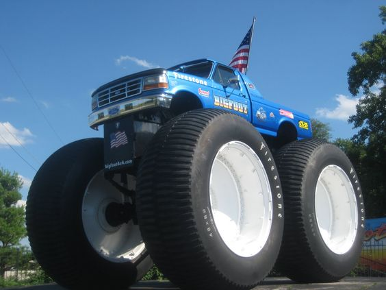 At some Monster Truck events one truck is on the course at a time, while most feature two drivers racing each other on symmetrical tracks, with the losing driver eliminated in single-elimination tournament fashion.