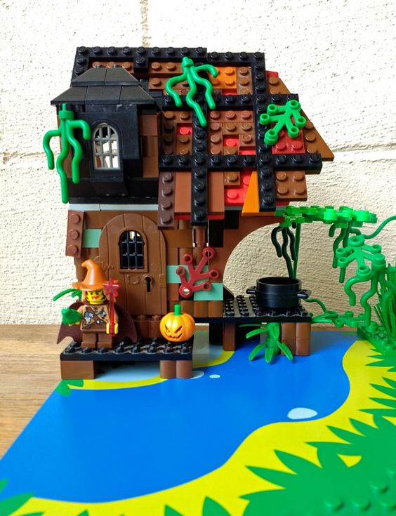 Bricks: WIP Witch Hut, by sahasrahla
