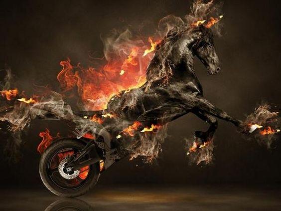 Exceptionnel Fire Moto Fantasy Horse 2013   Fantasy Moto Tiger Smoke Bike Moto Leopard  Relax City Bike Moto Tiger Power Fire Hayabusa Fantasy Fire Panther