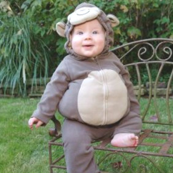 Halloween Hunkie-Monkey!