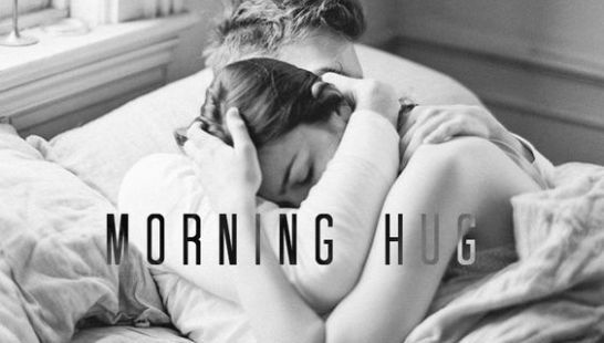 Good morning image with love couple hd for boyfriend - morning hug