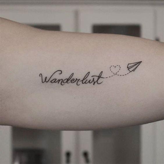 tatuagem de wanderlust
