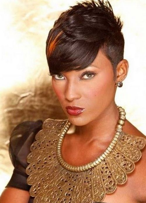 Astounding Round Faces Short Haircuts And Black Women On Pinterest Hairstyles For Men Maxibearus