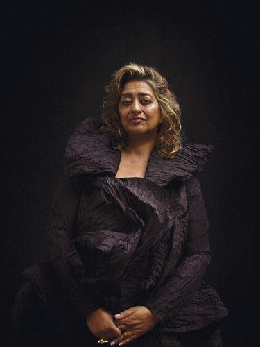 Zaha Hadid an amazing architect, capable of creating feats that defy the imagination...and gravity!