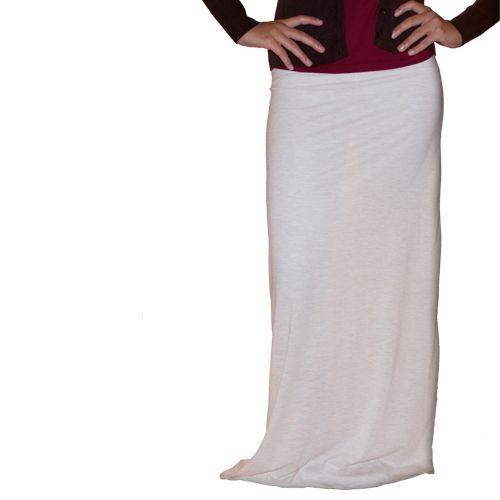 Cream Colored Maxi Skirt $25.99! | My Maxi Skirt | Pinterest ...