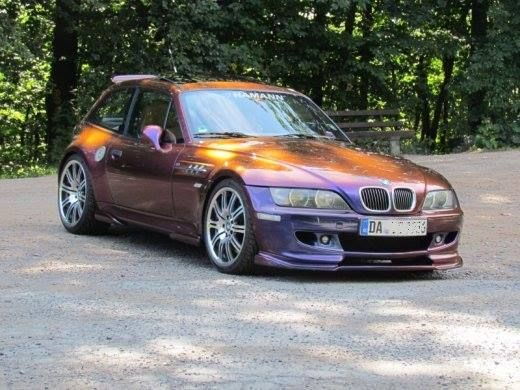 Bmw Z3 M Coupe With Flip Flop Paint 993 Vs Z3m Pinterest Coupe Bmw And Paint