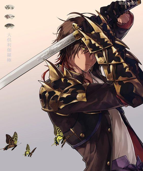 【刀剣乱舞】とある審神者が描いた大倶利伽羅(極)の素晴らしいイラスト