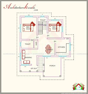1500 Square Feet House Plan With Beautiful Combine Style Elevation Architecture Kerala 1500 Sq Ft House House Plans With Pictures House Plans