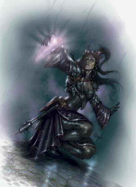 Kalashtar sacerdotisa do Caminho da Luz