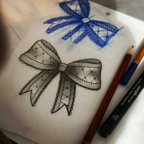 Gallery for lace bow tattoo tumblr tattoo ideas for Lace bow tattoo