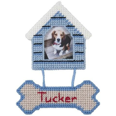 Dog House Ornaments Plastic Canvas Kit Plastic Canvas Ornaments