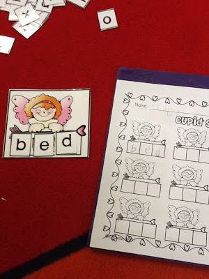 Keeping Up With The Kindergarteners - spelling cvc words ...