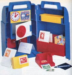 Fisher Price Post Office! Can I make a DIY version... Hmm.