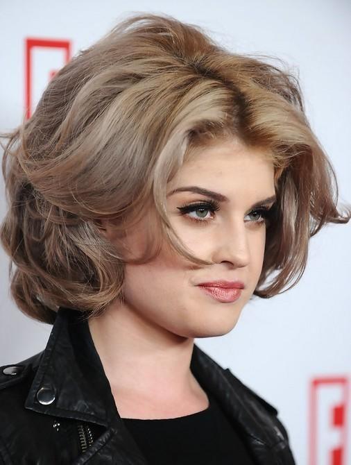Kelly Osbourne Blonde Medium Layered