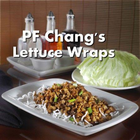 Pf changs lettuce wraps. Yum.