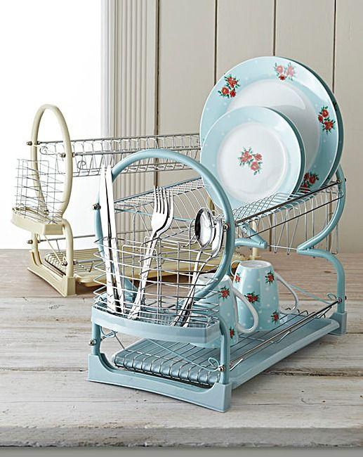Dish Drainer Blue   Home Essentials