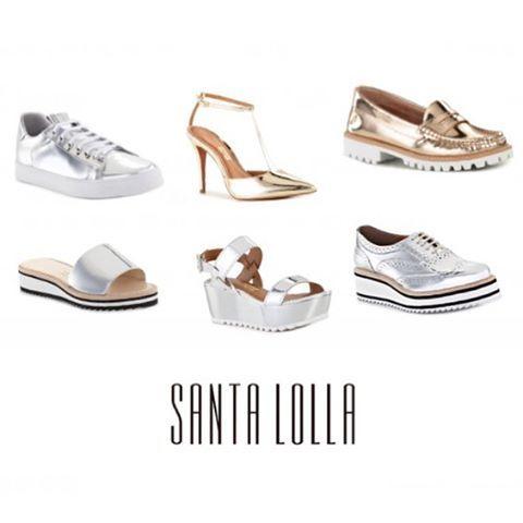 WEBSTA @ blogitsgirls - Boa noite! Novidades: Os metalizados invadem o Verão 2017 da @santa_lolla!Que os metalizados invadiram os nossos closets, disso não temos dúvidas, e a @santa_lolla não poderia ficar fora dessa, olha cada modelo lindo quero todos e vocês?!😉😉😉😉😉😉😉😉😉😉😉😉😉😉😉#boanoite #noite #sapatos #metalizados #santalolla #shoes #novidades #love #live