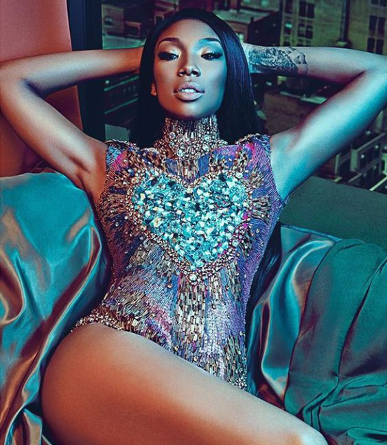 """femmequeens: """"Brandy photographed by Shxpir, Uptown Magazine June/July 2015 """""""