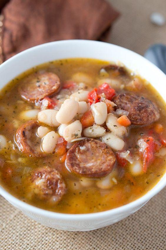 ... beans veggie sausage white beans winter veggies soups white bean soup