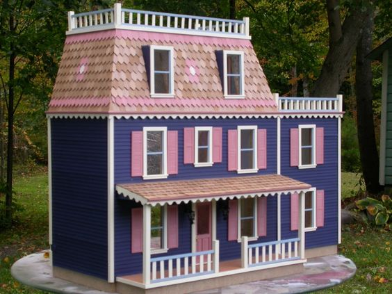 The Rosemont dollhouse, another affordable series victorian dollhouse