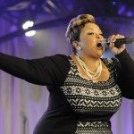 Tamela Mann performs at the 15th Annual BMI Trailblazers of Gospel Music Awards Luncheon, held January 17 in Nashville.   Photo by Erika Gol...