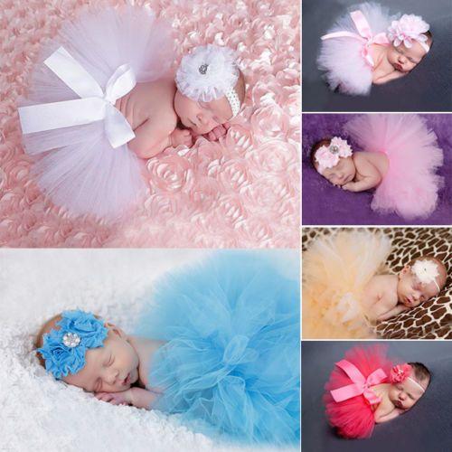 d tails sur b b nouveau n fille robe jupe tutu bandeau princesse v tement photo 0 24 mois. Black Bedroom Furniture Sets. Home Design Ideas