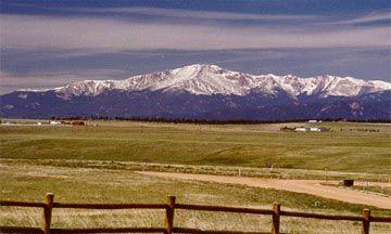 pikes peak, Colorado.
