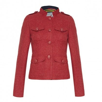FALLON - Semi fitted tweed jacket - SALE from Ness Clothing