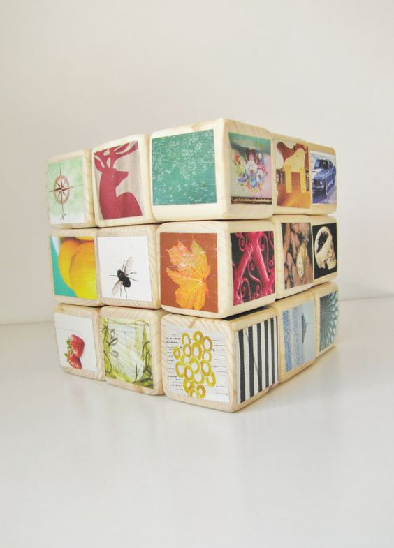 Hipster Baby Gift Ideas : Kids wooden blocks large set hipster unique baby