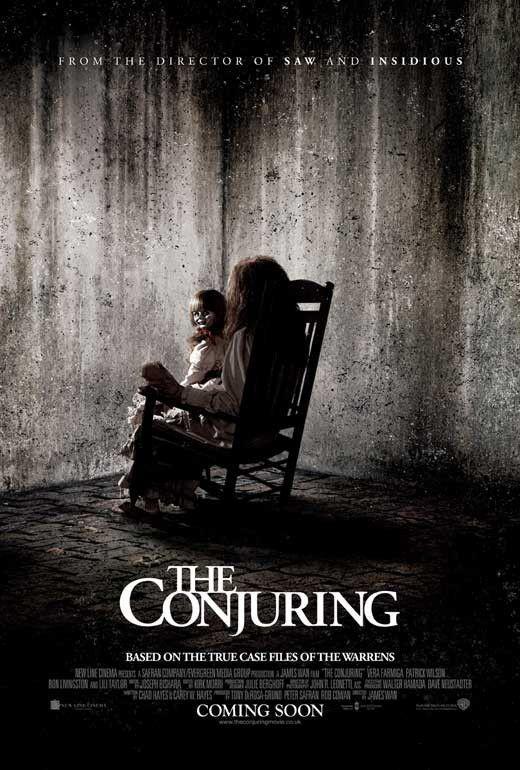 The Conjuring Uk 27x40 Movie Poster 2013 El Conjuro Peliculas De Terror Peliculas De Miedo
