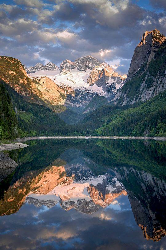 """enantiodromija: """"  Mountain Mirror by Martin """""""