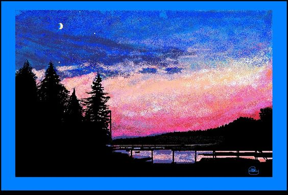 "Christmas Cove .2013 created using ""Paint "" By Priscilla Batzell ( all mouse no stylis)"