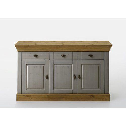 August Grove Kelly Sideboard Solid Wood Sideboard Sideboard