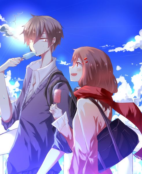 Kagerou Project couples from www.pixiv.com