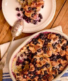 """Blueberry Rosemary Breakfast Pudding: Check out an exclusive recipe from the mom behind PBS' """"A Chef's Life"""""""
