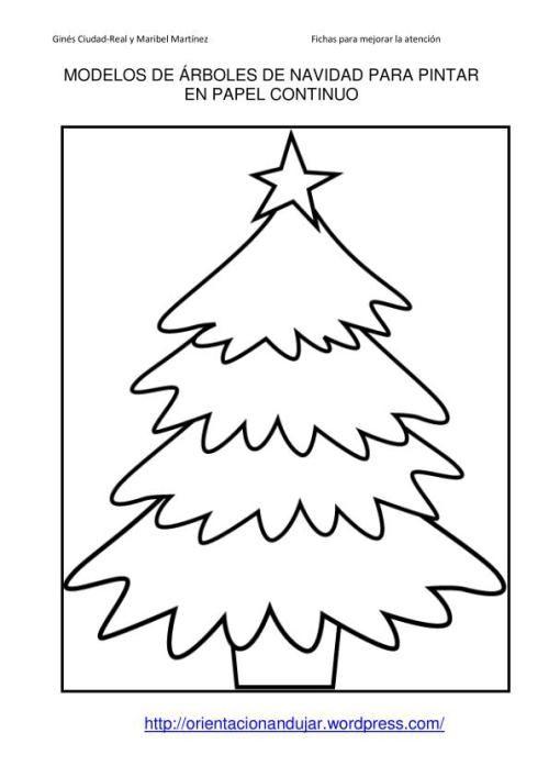Nuestro Arbol De Navidad 2 Juegos De Navidad Hojas Para