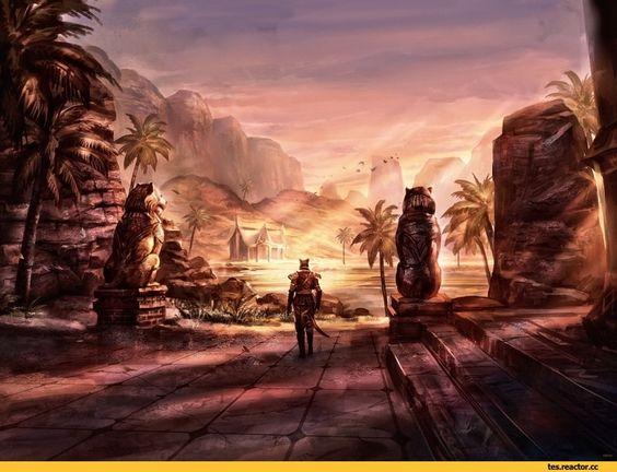 TES art,The Elder Scrolls,фэндомы,Хаммерфелл