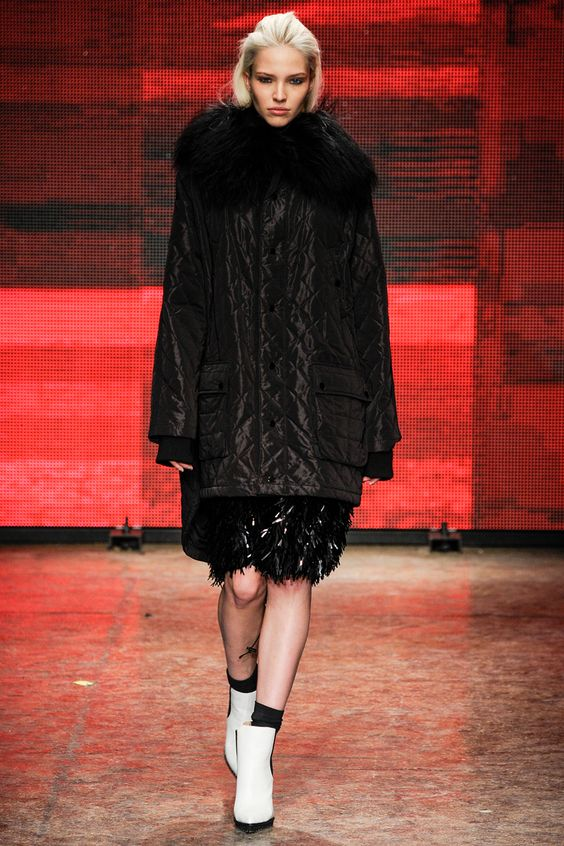 DKNY Fall 2014 RTW - Runway Photos - Fashion Week - Runway, Fashion Shows and Collections - Vogue